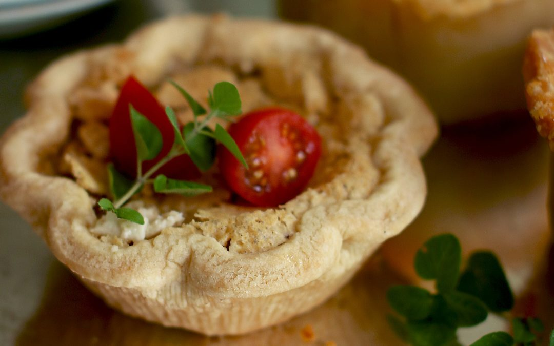 Easy Entertaining: Individual Tomato Tarts